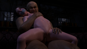 Rating: Explicit Score: 7 Tags: 1boy 1girl 3dcg age_difference anal bdsm black_hair bondage bound censored clitoris fat_man flat_chest gag grimace interracial lily_castellanos looking_at_viewer navel nipples nude penis photorealistic pussy rape rolling_eyes smile snow-kitsune tape_gag testicles User: fantasy-lover