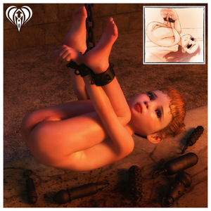 Rating: Explicit Score: 8 Tags: 1girl 3dcg ass bdsm bondage bound_ankles bound_hands brown_eyes clitoral_hood clitoris cross-section dildo feet flat_chest legs_up lil_heart looking_at_viewer lying nude on_back orange_hair photorealistic pussy sex_toy shiny shiny_skin short_hair solo too_many too_many_sex_toys uncensored wrists_to_ankles User: Software