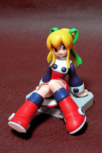 Rating: Safe Score: 1 Tags: 1girl blonde_hair blush capcom dress figure green_eyes long_hair ribbon rockman rockman_(classic) roll solo User: DMSchmidt