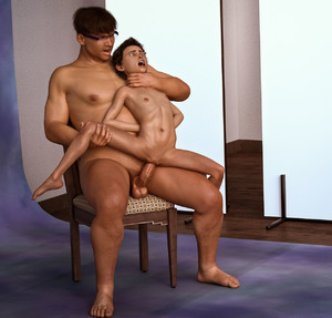 Rating: Explicit Score: 24 Tags: 1boy 1girl 3dcg age_difference androgynous arms_behind_back artist_request barefoot chair choking flat_chest glasses grabbing_leg nipples nude open_mouth penis photorealistic pussy rape sex short_hair sitting_on_chair sitting_on_lap spread_legs testicles tomboy vaginal User: yobsolo