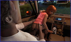 Rating: Explicit Score: 107 Tags: 1boy 1girl 3dcg after_sex age_difference anus ass ass_grab barefoot bracelet car car_interior cum cum_in_ass cumdrip itigus_(artist) long_hair looking_at_viewer looking_back nail_polish open_mouth pantsu penis photorealistic red_hair reverse_cowgirl_position sitting squatting steering_wheel stuffed_animal stuffed_toy surprised underwear User: fantasy-lover