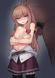 Rating: Explicit Score: 1 Tags: 1girl armpit_sex bee_(deadflow) black_legwear breasts cagliostro_(granblue_fantasy) cum dress_shirt ejaculation fang granblue_fantasy hairband light_brown_hair long_hair miniskirt nipples open_clothes open_mouth open_shirt partially_undressed purple_eyes purple_skirt shirt skirt small_breasts smile solo_focus spikes standing thighhighs topless zettai_ryouiki User: DMSchmidt