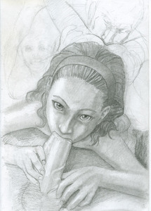 Rating: Explicit Score: 20 Tags: 2boys 2girls age_difference ass cunnilingus fellatio hairband holding_penis looking_at_viewer monochrome multiple_boys multiple_girls natis_(artist) nude oral original penis pov testicles uncensored User: xardius