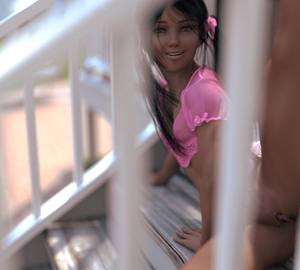 Rating: Explicit Score: 4 Tags: 1girl 3dcg anus bottomless brown_eyes brown_hair camisole clitoral_hood hair_ribbon libia long_hair looking_at_viewer outdoors photorealistic pussy ribbon sabine_heinrich see-through small_breasts smile solo stairs transparent_clothes twin_tails uncensored younger User: Software