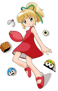 Rating: Safe Score: 2 Tags: 1girl arm_cannon artist_request blonde_hair capcom green_eyes highres metool ponytail power-up red_skirt rockman rockman_(character) rockman_(classic) roll skirt weapon User: DMSchmidt