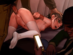Rating: Explicit Score: 53 Tags: 1girl 2boys animated arms_behind_back as109 ass bound breasts brown_eyes decensored feet gif hand_on_another's_head long_sleeves male_pubic_hair multiple_boys navel nipples nude open_mouth original penis pubic_hair pussy_juice rape sex shoujo_to_ura_roji small_breasts tears thighhighs third-party_edit top-down_bottom-up vaginal white_legwear User: Domestic_Importer