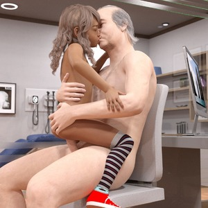 Rating: Explicit Score: 15 Tags: 1boy 1girl 3dcg age_difference ass ass_grab blonde_hair cowgirl_position doctor draxlasto flat_chest kiss long_hair penis photorealistic sex shoes sitting striped_legwear thighhighs vaginal User: fantasy-lover