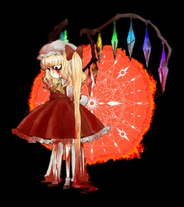 Rating: Safe Score: 1 Tags: 1girl blood blood_on_face bloody_clothes bloody_hair bow closed_mouth flandre_scarlet full_body hat looking_down mob_cap open_eyes red_eyes side_ponytail solo team_shanghai_alice touhou_project transparent_background wangnyunim User: DMSchmidt