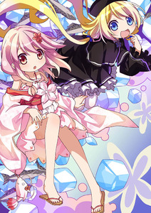 Rating: Safe Score: 1 Tags: 2girls 54hao :d :o bangs bare_shoulders black_capelet black_dress black_hat blonde_hair blue_eyes blue_ribbon blush braid camisole capelet dress drooling finger_to_mouth fish flower frilled_dress frilled_sleeves frills hair_between_eyes hair_flower hair_ornament hair_ribbon halter_top halterneck hat ice ice_cube japanese_clothes kimono long_hair long_sleeves looking_at_viewer low_twintails magi_in_wanchin_basilica multiple_girls nun off_shoulder open_mouth pantyhose parted_lips pink_camisole pink_hair pink_kimono red_eyes ribbon ribbon-trimmed_camisole ribbon_trim sandals sergestid_shrimp_in_tungkang short_kimono single_braid smile stuffed_animal stuffed_shrimp stuffed_toy twin_tails very_long_hair white_legwear wide_sleeves xiao_ma xuan_ying zouri User: DMSchmidt