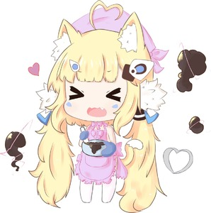 Rating: Safe Score: 1 Tags: 1girl >_< ahoge animal_ears apron azur_lane bailingxiao_jiu bangs blonde_hair blush bow bowl cat_ears cat_girl cat_tail chibi chocolate closed_eyes eldridge_(azur_lane) electricity eyebrows_visible_through_hair facial_mark facing_viewer fang frilled_apron frills full_body hair_ornament head_scarf heart heart_ahoge highres holding holding_bowl kemonomimi_mode long_hair low_twintails naked_apron no_shoes open_mouth oven_mitts pink_apron pink_bow sidelocks simple_background solo standing tail thighhighs twin_tails valentine very_long_hair wavy_mouth white_background white_legwear User: DMSchmidt