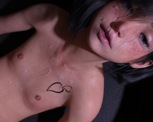 Rating: Explicit Score: 9 Tags: 1girl 3dcg after_sex black_hair blue_eyes bossy_2014 cum cum_on_body dutch_angle facial looking_at_viewer momo photorealistic short_hair User: fantasy-lover