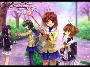 Rating: Safe Score: 0 Tags: antenna_hair blush brown_eyes brown_hair camcorder camera cardcaptor_sakura cherry_blossoms clannad crossover daidouji_tomoyo furukawa_nagisa green_eyes hair_bobbles hair_ornament hairband hairclip hoshi_no_tsue ibuki_fuuko kinomoto_sakura long_hair low-tied_long_hair magical_girl mutsuki_(moonknives) object_namesake pantyhose school_uniform skirt starfish wand User: DMSchmidt