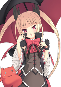 Rating: Safe Score: 0 Tags: >_o 1girl >:o blazblue blonde_hair blush chestnut_mouth dress familiar frills gii gothic_lolita hair_ribbon lolita_fashion long_hair open_mouth rachel_alucard red_eyes ribbon solo twin_tails umbrella yuntea User: DMSchmidt
