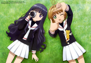Rating: Safe Score: 0 Tags: 2girls absurdres ahoge brown_hair camera cardcaptor_sakura daidouji_tomoyo happy highres kero kinomoto_sakura long_hair multiple_girls one_eye_closed purple_eyes school_uniform short_hair smile souzaki_nobuyoshi wings User: DMSchmidt