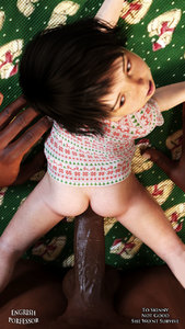 Rating: Explicit Score: 22 Tags: 1boy 1girl 3dcg age_difference ass black_hair bottomless brown_skin clothed_female_nude_male dark_skinned_male english_professor from_behind hetero interracial kneeling looking_back lying nude on_stomach open_mouth original penis photorealistic pov sex shiny_skin shirt shirt_lift solo_focus testicles uncensored User: Domestic_Importer