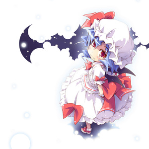 Rating: Safe Score: 0 Tags: 1girl arms_behind_back fang ham_(points) hat looking_back red_eyes remilia_scarlet ribbon solo tagme team_shanghai_alice touhou_project wings User: DMSchmidt