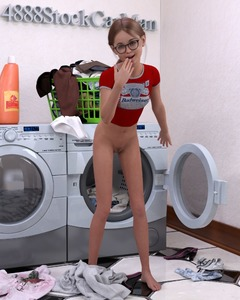 Rating: Questionable Score: 27 Tags: 1girl 3dcg 4888stockcarman artist_name barefoot bottomless breasts bridget-4888 budweiser clitoris glasses laundry midriff navel photorealistic pose pubic_hair pussy reflection small_breasts smile solo standing teenage washing_machine User: fantasy-lover