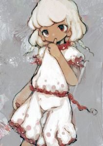 Rating: Safe Score: 0 Tags: 1girl anabone ebisu_eika solo touhou_project wily_beast_and_weakest_creature User: DMSchmidt