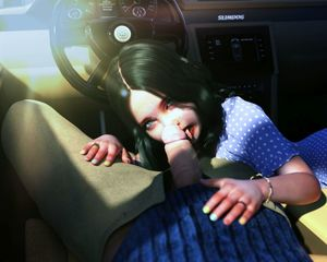 Rating: Explicit Score: 71 Tags: 1boy 1girl 3dcg age_difference black_hair blowing blue_eyes bracelet car fellatio highres licking licking_penis long_hair looking_at_viewer oral penis photorealistic ring slimdog steering_wheel tongue tongue_out uncensored User: lalilu1234