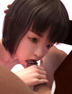 Rating: Explicit Score: 6 Tags: 1boy 1girl 3dcg age_difference bangs black_hair blunt_bangs brown_eyes chaofan cum cum_in_mouth cumdrip dutch_angle facial fellatio hands_on_another's_head holding_penis kneeling namihey7_(user_snyf2227) nude oral penis photorealistic saliva shadow sitting User: fantasy-lover
