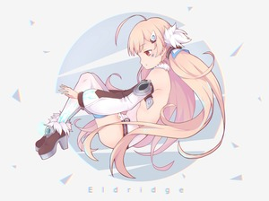 Rating: Safe Score: 1 Tags: 1girl :o ahoge ankle_boots azur_lane backless_outfit bangs bare_shoulders blonde_hair boots brown_footwear character_name detached_sleeves dress eldridge_(azur_lane) eyebrows_visible_through_hair from_side full_body fur-trimmed_boots fur_collar fur_trim hair_ornament hairclip high_heel_boots high_heels highres long_hair long_sleeves parted_lips profile puffy_long_sleeves puffy_sleeves red_eyes sawara_(starligtvision) shiny shiny_hair short_dress solo thighhighs triangle twin_tails two-tone_background very_long_hair white_dress white_legwear User: DMSchmidt
