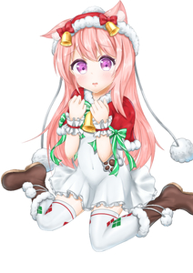 Rating: Safe Score: 0 Tags: 1girl alternate_costume animal_ears azur_lane bell blush capelet cat_ears eyebrows_visible_through_hair fur_trim kisaragi_(azur_lane) long_hair looking_at_viewer pink_hair ribbon santa_costume simple_background sitting skirt solo takechi_(user_fpya5735) thighhighs wariza white_background white_legwear User: Domestic_Importer