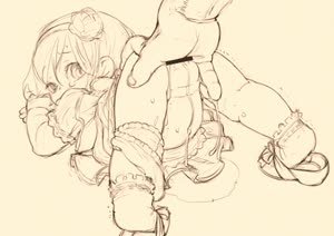 Rating: Explicit Score: 7 Tags: 1girl animated bar_censor censored dress feet feral_lemma fingering full_body hairband looking_back lowres monochrome original pantsu pantsu_around_one_leg pussy_juice shoes simple_background socks solo_focus toddlercon underwear video webm User: Domestic_Importer