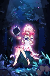 Rating: Safe Score: 1 Tags: 1girl ahoge bare_shoulders child_(elsword) collarbone dress elsword flat_chest flower full_body hair_between_eyes highres laby_(elsword) long_hair night night_sky nisha_(elsword) open_mouth outdoors pink_eyes pink_hair short_sleeves sitting sky softcr3am solo tree tree_branch useless_tags white_dress white_flower wide_sleeves User: DMSchmidt