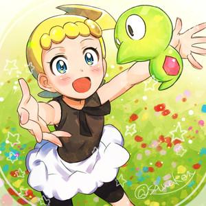 Rating: Safe Score: 0 Tags: 1girl :o blonde_hair blue_eyes blush dress eureka_(pokemon) kanimaru outstretched_arm pokemon pokemon_(anime) pokemon_(creature) pokemon_xy_(anime) short_hair side_ponytail skirt stan zygarde zygarde_core User: Domestic_Importer