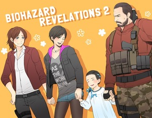 Rating: Safe Score: 1 Tags: 1boy 3girls age_difference biohazard_revelations_2 claire_redfield closed_eyes dress english flat_chest gun hair_ribbon holding_hands multiple_girls natalia_korda necklace ribbon shadow smile source_request weapon User: fantasy-lover