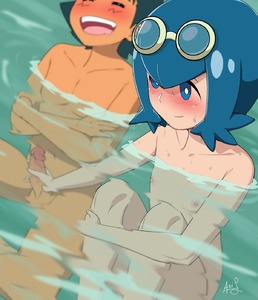 Rating: Explicit Score: 2 Tags: 1boy 1girl ari_(ariel_lopez550) artist_name black_hair blue_eyes blue_hair blush bright_pupils brown_skin closed_eyes crossed_arms flat_chest goggles goggles_on_head handjob highres nipples npc_trainer nude open_mouth partially_submerged penis pokemon pokemon_(anime) pokemon_sm_(anime) satoshi_(pokemon) shota signature smile suiren_(pokemon) teeth testicles trial_captain uncensored wet User: DMSchmidt