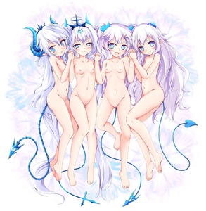 Rating: Questionable Score: 8 Tags: +_+ 4girls :d :o ahoge ass ass_visible_through_thighs bangs barefoot blue_eyes blush breasts cat_and_rabbit collarbone demon_girl demon_horns demon_tail elsword fang feet from_above full_body gem girl_sandwich groin hair_between_eyes hair_ornament hairband hairclip half-closed_eyes hand_on_another's_shoulder head_tilt highres holding_hands horns interlocked_fingers knee_up lavender_hair lineup long_hair looking_at_viewer looking_to_the_side looking_up luciela_r._sourcream lying multicolored multicolored_background multiple_girls navel nude on_side open_mouth parted_lips photoshop pink_hair pointing pussy sandwiched seductive_smile sidelocks small_breasts smile stomach tail take_your_pick tareme thigh_gap twin_tails uncensored very_long_hair w_arms User: Domestic_Importer