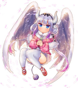Rating: Safe Score: 0 Tags: 1girl blue_eyes capelet dragon_girl dragon_horns dragon_tail dragon_wings feathered_wings flower hair_bobbles hair_ornament hairband holding horns kanna_kamui kobayashi-san_chi_no_maidragon looking_at_viewer petals silver_hair simple_background slit_pupils solo suou_sakura tail thighhighs twin_tails white_background white_legwear wings User: Domestic_Importer
