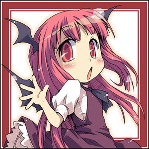 Rating: Safe Score: 1 Tags: 1girl :o bat_wings blush chibi ham_(points) head_wings koakuma looking_back red_eyes red_hair solo team_shanghai_alice touhou_project waving wings User: DMSchmidt