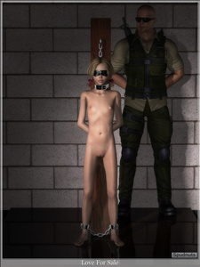 Rating: Explicit Score: 1 Tags: 1boy 1girl 3d_custom_girl 3dcg age_difference ankle_cuffs artist_name bdsm blindfold blonde_hair bow chains clitoral_hood collar dog_collar feet flat_chest hair_bow head_out_of_frame nipples nude original photorealistic post puffy_areolae pussy restrained short_hair slave spudnuts tied_hair twin_tails uncensored User: Software