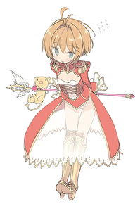 Rating: Safe Score: 1 Tags: 1girl ahoge arms_behind_back blade_(galaxist) blush boots breasts brown_hair cardcaptor_sakura cosplay epaulettes fate/extra fate/grand_order fate_(series) full_body greaves green_eyes hair_intakes holding holding_wand kero kinomoto_sakura leaning_forward leotard magical_girl nero_claudius_(fate) nero_claudius_(fate)_(all) nero_claudius_(fate)_(cosplay) see-through seiyuu_connection small_breasts solo tange_sakura thigh_boots thigh_gap thighhighs wand white_background yume_no_tsue User: DMSchmidt
