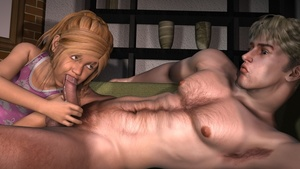 Rating: Explicit Score: 9 Tags: 1boy 1girl 3d_custom_girl 3dcg age_difference blonde_hair blue_eyes clothed_female_nude_male cum cum_in_mouth cumdrip fellatio flat_chest holding_penis incest looking_at_partner navel nipples nude oral penis photorealistic snarkmaster testicles younger User: Timon1553
