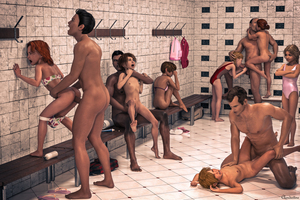 Rating: Explicit Score: 84 Tags: 3dcg 5boys 6+girls absurdres age_difference anal ass ass_grab barefoot bench between_legs blonde_hair blue_eyes bottomless brick_wall brown_hair choking clandestine clitoral_hood clitoris closed_eyes clothed_female_nude_male clothed_sex earrings fellatio fingering flat_chest forced from_behind goggles grimace group_sex hair_bun hand_on_another's_ass hand_on_another's_head highres jewellery kiss long_hair lube lying missionary multiple_boys multiple_girls navel nipples nopan nude on_back one-piece_swimsuit one_piece_swimsuit open_mouth oral orgy pantsu pantsu_pull penis photorealistic pussy red_hair sex short_hair sick_lolicon_3d_artworks sucking swimsuit testicles tile_floor uncensored underwear vaginal watching User: Software