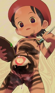 Rating: Questionable Score: 0 Tags: 1girl 2equal8 adeleine beret black_hair bodypaint flat_chest hat kirby_(series) navel nintendo nipples nude paint pregnant pussy short_hair solo uncensored User: Domestic_Importer