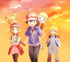 Rating: Safe Score: 0 Tags: 2boys 2girls animal animal_on_head back backpack bag bandaid bandaid_on_knee black_hair black_legwear blonde_hair blue_eyes blush brother_and_sister carrying citron_(pokemon) eureka_(pokemon) glasses hat jumpsuit mary_janes multiple_boys multiple_girls on_head open_mouth piggyback pikachu pokemon pokemon_(anime) pokemon_(game) pokemon_xy satoshi_(pokemon) serena_(pokemon) shoes short_hair siblings side_ponytail smile sunset thighhighs walking User: Domestic_Importer