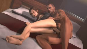 Rating: Explicit Score: 9 Tags: 1boy 1girl 3dcg age_difference anal animated ass bed bed_sheet bottomless breasts brown_eyes brown_hair clitoral_hood clitoris crossover ellie_(the_last_of_us) erection hetero large_penis nude penetration penis photorealistic ponytail pussy sex sound source_filmmaker testicles the_last_of_us uncensored video webm User: Software