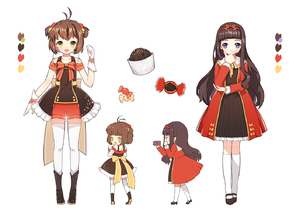 Rating: Safe Score: 0 Tags: 2girls :d antenna_hair arm_at_side bangs black_dress black_hair black_shoes blunt_bangs boots bow brown_hair camera candy cardcaptor_sakura character_sheet cupcake daidouji_tomoyo dress food_themed_clothes frills gloves green_eyes hair_bobbles hair_bow hair_ornament hair_ribbon hairband hand_on_own_chin kinomoto_sakura legs_apart long_hair long_sleeves looking_at_viewer mary_janes multiple_girls multiple_views neck_ribbon open_mouth purple_eyes recording red_bow red_dress red_shorts ribbon shoes short_hair shorts smile standing striped striped_bow thighhighs two_side_up very_long_hair white_gloves white_legwear wrist_cuffs yellow_bow yellow_ribbon youli_(yori) User: DMSchmidt