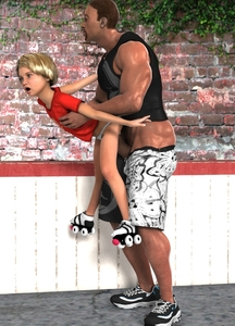 Rating: Explicit Score: 7 Tags: 1boy 1girl 3dcg age_difference black_hair blonde_hair brick_wall clothed_sex flat_chest held_up hetero mech_dragon_(cosworth34677) open_mouth original pantsu penis photorealistic roller_skates sex shoes short_hair shorts standing uncensored underwear User: Domestic_Importer