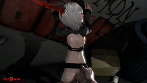 Rating: Explicit Score: 8 Tags: 1boy 1girl 3dcg against_wall alley animal_ears animated ass ass_grab ass_shake bent_over blue_eyes chaps clothed_female_nude_male elin fingerless_gloves from_behind gloves graffiti mybash nude penis pov sex shiny shiny_skin short_hair silver_hair source_filmmaker tagme tera_online uncensored vaginal video webm User: Domestic_Importer