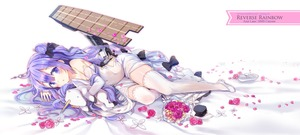 Rating: Safe Score: 0 Tags: 1girl ahoge anthropomorphism azur_lane bangs bare_shoulders bed_sheet black_bow black_ribbon blush bouquet bow character_name copyright_name covered_navel detached_sleeves dress elbow_gloves eyebrows_visible_through_hair flight_deck flower flowers gloves hair_between_eyes hair_bun hair_ribbon highres hms_unicorn_(azur_lane) jin_young-in jin_young-jin long_hair long_sleeves looking_at_viewer lying object_hug on_side one_side_up parted_lips petals pink_flower pink_rose purple_eyes purple_flower purple_hair purple_rose ribbon ring_box rose shoes side_bun single_shoe sleeves_past_wrists solo stuffed_animal stuffed_pegasus stuffed_toy stuffed_unicorn sundress thighhighs unicorn_(azur_lane) very_long_hair watermark white_dress white_flower white_footwear white_legwear yellow_flower User: DMSchmidt