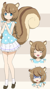 Rating: Safe Score: 0 Tags: 0_0 1girl :d ^_^ animal_ears bangs beige_background blouse blue_blouse blue_eyes blush braid brown_background brown_footwear closed_eyes closed_mouth eyebrows_visible_through_hair hair_tie hands_up loafers long_hair looking_at_viewer low_twintails maplestory multiple_views nekono_rin open_mouth own_hands_together pleated_skirt polka_dot polka_dot_blouse shoes skirt sleeveless_blouse smile socks squirrel_ears squirrel_girl squirrel_tail standing striped striped_background sweat tail trembling turn_pale twin_braids twin_tails wavy_mouth white_legwear white_skirt User: Domestic_Importer