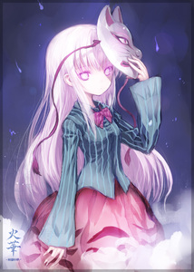 Rating: Safe Score: 1 Tags: 1girl bow bubble_skirt fox_mask hata_no_kokoro hibanar hopeless_masquerade long_hair long_sleeves looking_at_viewer mask pink_eyes pink_hair shirt skirt solo star tagme team_shanghai_alice touhou_project triangle User: DMSchmidt