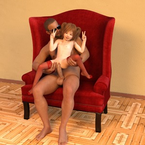 Rating: Explicit Score: 25 Tags: 1boy 1girl 3dcg age_difference barefoot brown_hair brown_skin clitoris dark_skinned_male double_v flat_chest glasses held_up interracial logan-x looking_at_viewer navel nipples nude original penis photorealistic pussy short_hair sitting smile spread_legs sunglasses teeth testicles thighhighs twin_tails uncensored v vaginal User: Domestic_Importer