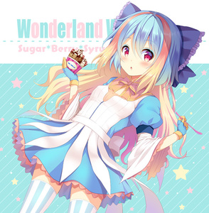 Rating: Safe Score: 0 Tags: 1girl blonde_hair blue_bow blue_dress blue_gloves blue_hair bow breasts brown_bow copyright_name diagonal-striped_background diagonal_stripes dress dutch_angle food frilled_bow frills gloves hair_bow hands_up holding ice_cream kuroe_(sugarberry) little_alice_(wonderland_wars) long_hair long_sleeves looking_at_viewer multicoloured_hair parted_lips puffy_short_sleeves puffy_sleeves short_over_long_sleeves short_sleeves small_breasts solo star striped striped_background striped_legwear two-tone_hair vertical-striped_legwear vertical_stripes very_long_hair wide_sleeves wonderland_wars User: DMSchmidt