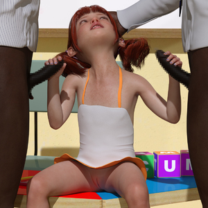 Rating: Explicit Score: 12 Tags: 1girl 2boys 3dcg bangs blunt_bangs censored double_handjob flat_chest hand_on_head handjob lunarctic multiple_boys painted_nails penis photorealistic pussy red_hair sandals sitting twin_tails User: fantasy-lover